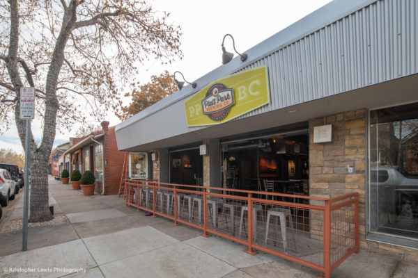 An image of the front exterior of the Platte Park Brewing Company
