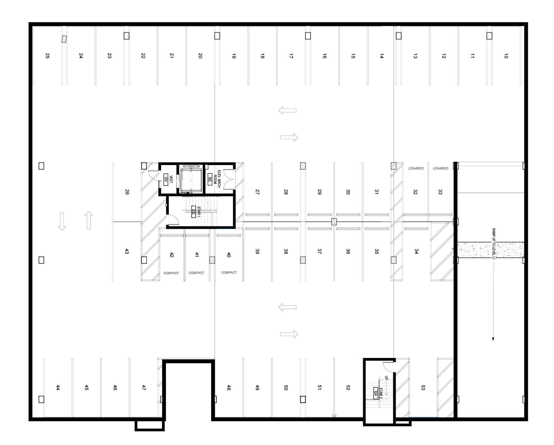 Parking Level Floor Plan image